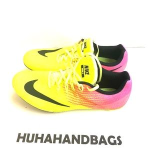 Nike Rival s Yellow and Punk trainers 👟 size 10.5